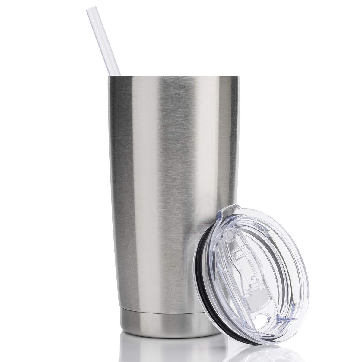 Amazon.com: Civago - Vaso de café de acero inoxidable con ...