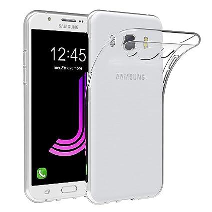 AICEK Funda Compatible Samsung Galaxy J7 2016, Transparente Silicona Fundas para Galaxy J7 2016 Carcasa Silicona Funda Case (5,5 Pulgadas)