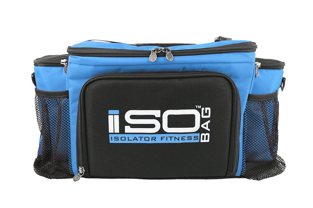 Isobag 6 Meal Reverse Light Blue/Black