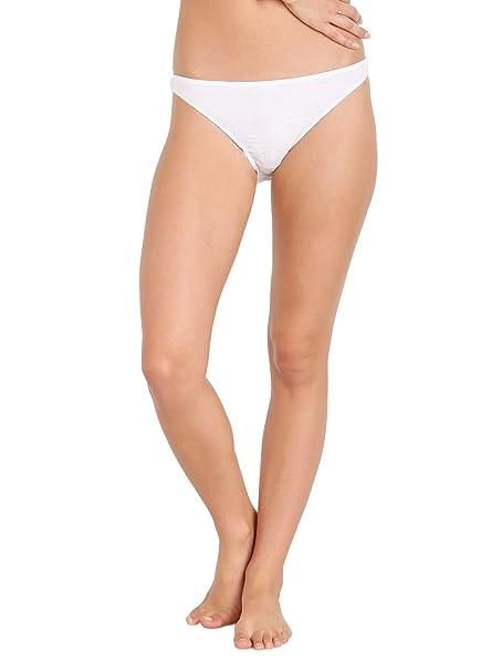 fd7462b6b3 Only Hearts Organic Cotton French Bikini White at Amazon Women s ...