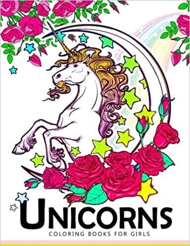 Amazon.com: Unicorn Coloring Books for Girls: Cute Magical Creatures ...