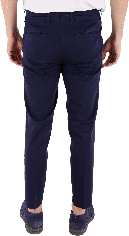 MICHAEL COAL Luxury Fashion Mens MCBRAD3276BLU Blue Pants Season Outlet