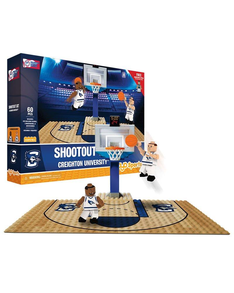 Creighton Bluejays OYO Sports NCAA Court Shootout Set 60PCS with 2 MInifigures
