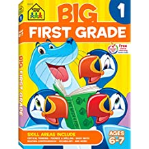 Big First Grade Workbook, Ages 6-7, 1, 320 pages, great quality & value, prepares first graders for success, essential skills