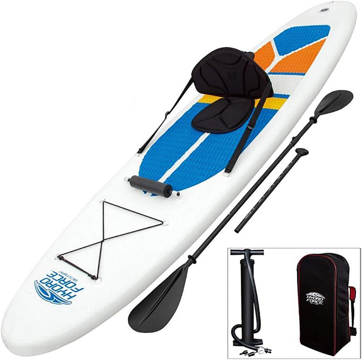 SUP スタンドアップパドルボード Surfboard ロングボード 安定性抜群 本体、フィン、パドル、バックパック、ハンドポンプ、補修キット