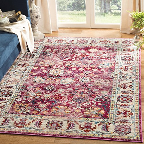 Safavieh Savannah Collection Abstract Area Rug, 6 x 9 , Violet Grey