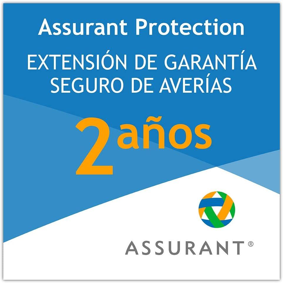 2 años extensión de garantía para un producto para el cuidado personal desde 40 EUR hasta 49,99 EUR