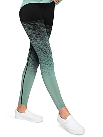 b00d4db1025e44 Victoria's Secret Pink Ultimate Seamless Legging, Horizon Green, X-Small