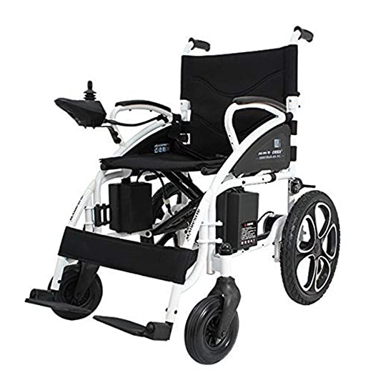 ComfyGO Electric Wheelchair Folding Motorized Power Wheelchairs, Fold Foldable Power Compact Mobility Aid Wheel Chair, Powerful Dual Motor Wheelchair, ...