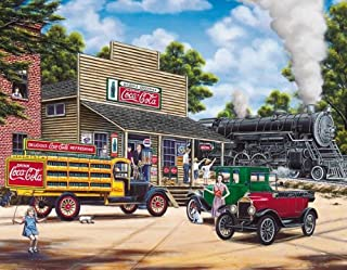 product image for Springbok 1000 Piece Jigsaw Puzzle Coca-Cola All Aboard