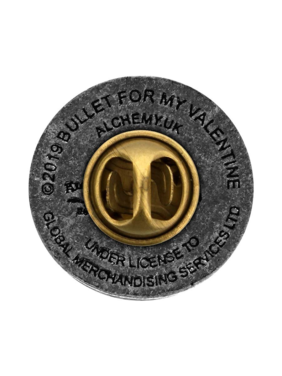 Bullet For My Valentine Disc Pin Pin silberfarben