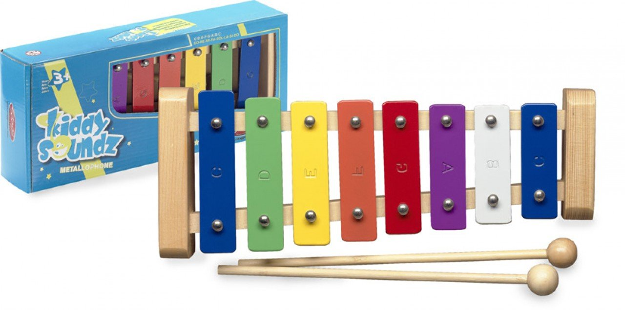 Stagg META-K8 Color Coded Metallophone by Stagg
