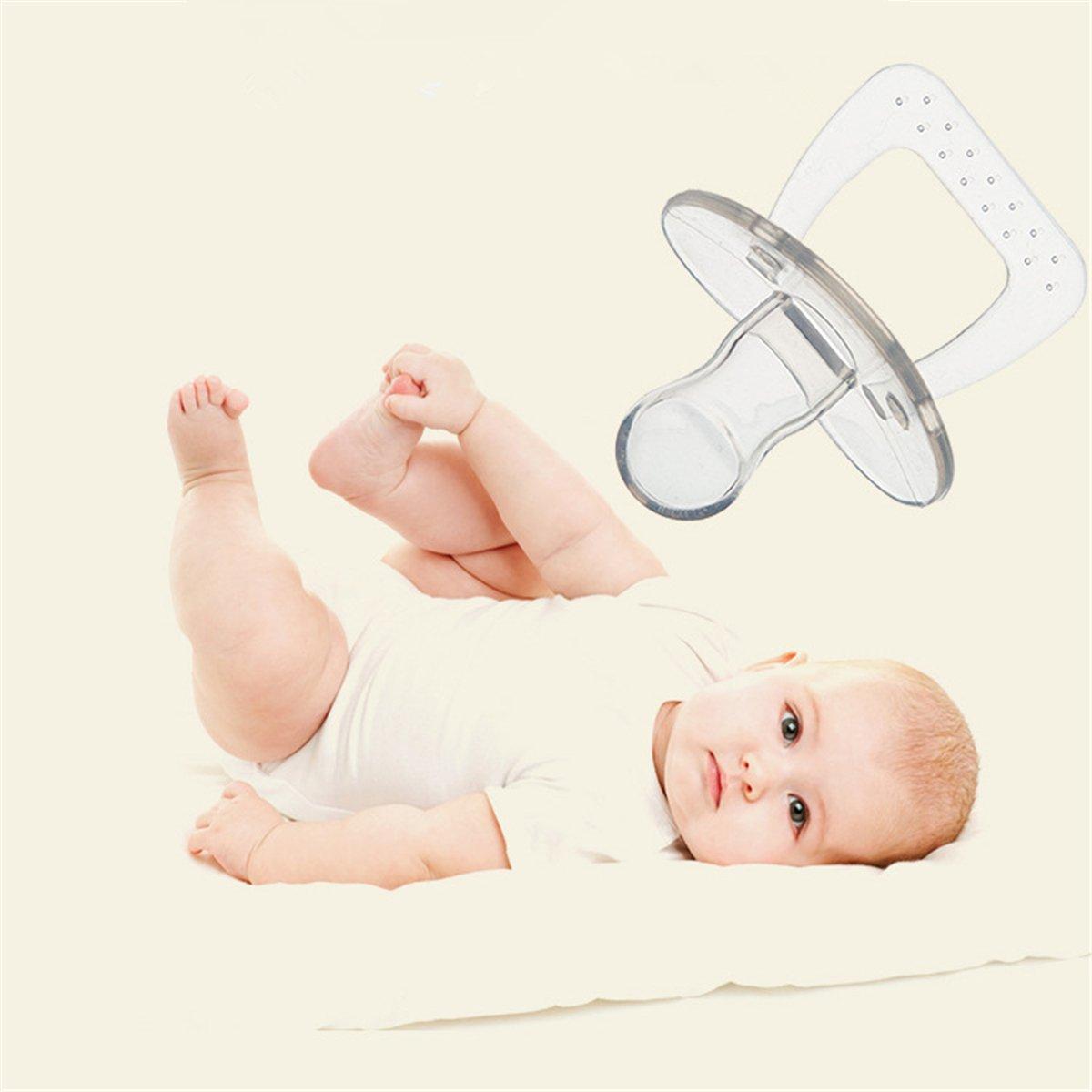 Amazon.com: UniBetter - Chupete de peluche para bebé y niña ...