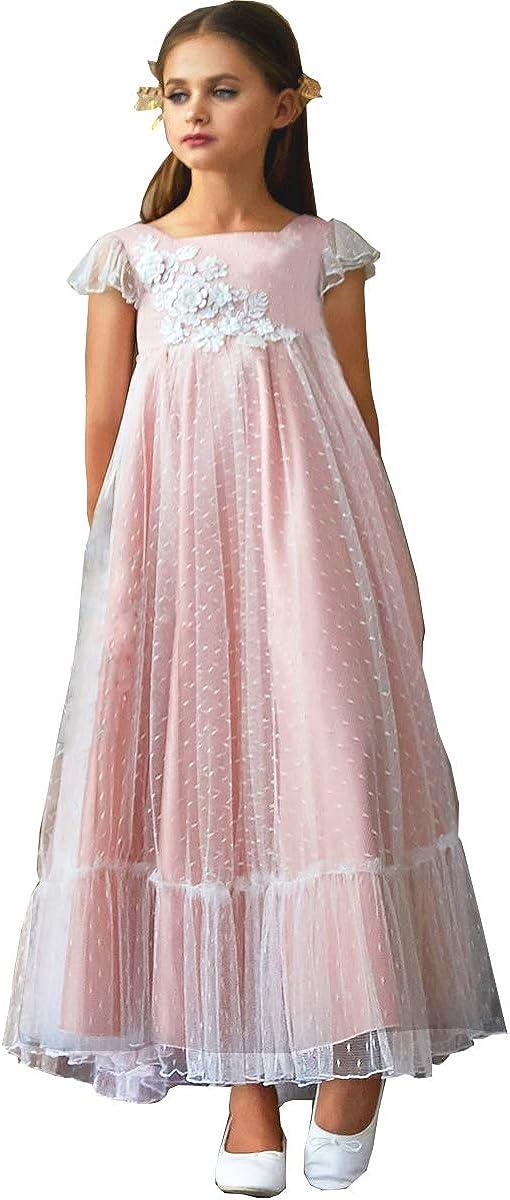 TYHTYM White Flower Dresses...