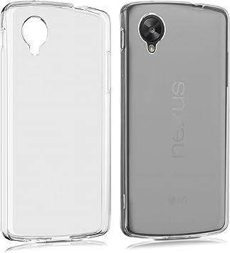 kwmobile Funda Compatible con LG Google Nexus 5 - Carcasa de TPU ...