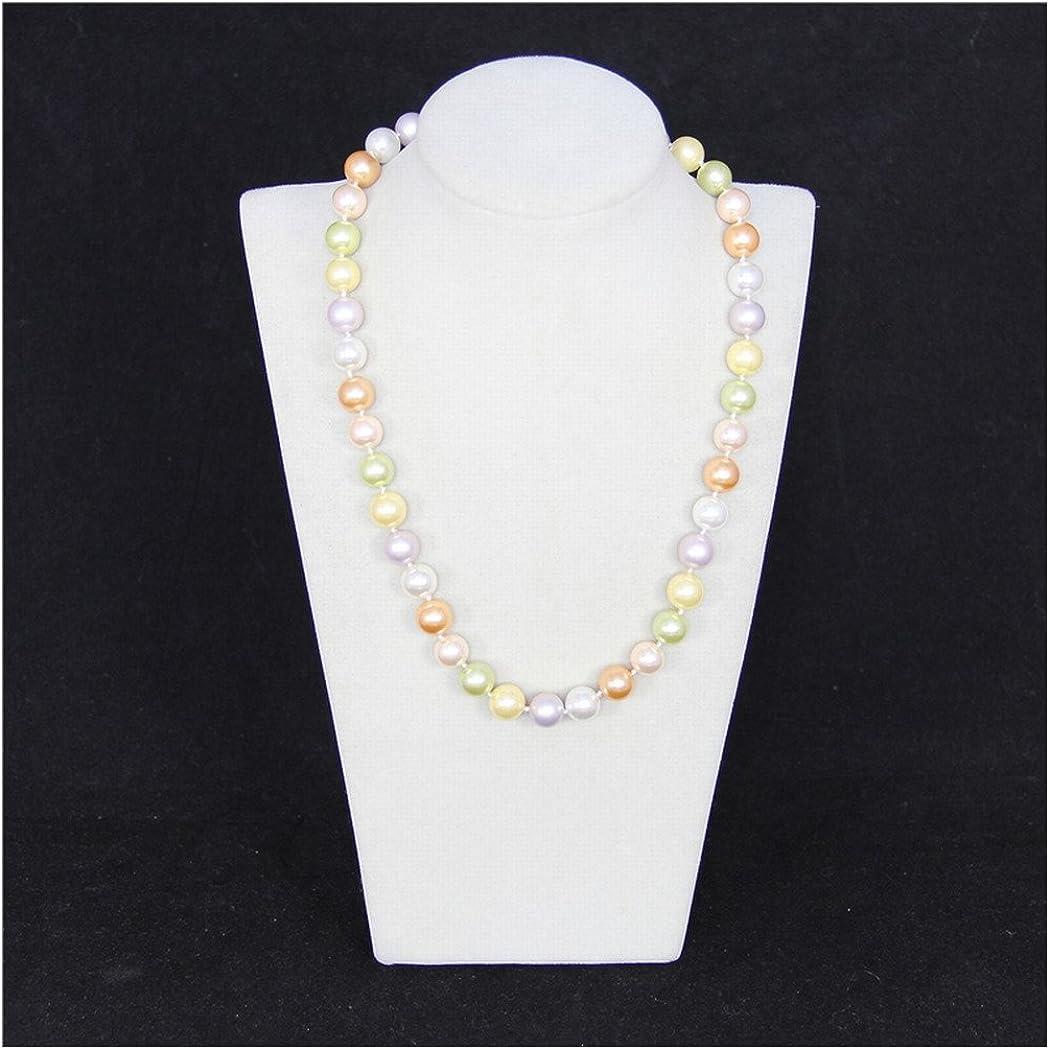 Schmuckwilli Collier de perles shell Collier de perles shell couleurs rose Collier Perles shell de Tahiti//Mers du Sud