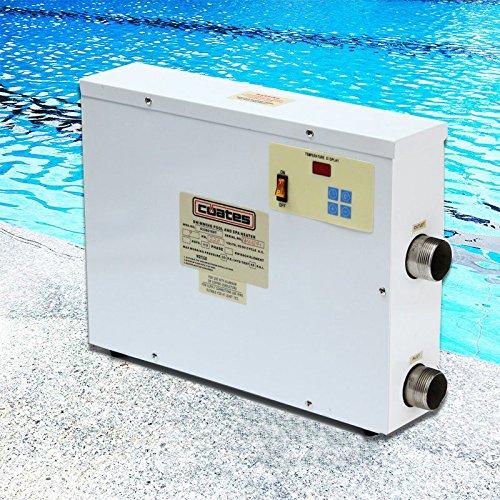 9KW 220V Digital piscina SPA Jacuzzi termostato calentador de agua eléctrico