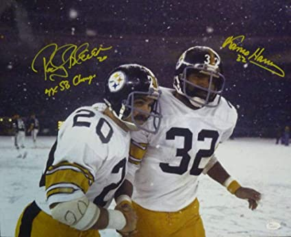a639a279b Rocky Bleier   Franco Harris Signed Pittsburgh Steelers 16x20 Photo 10566 -  JSA Certified - Autographed