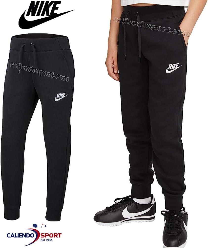 NIKE G NSW PE Pant Sport Trousers, Niñas, Black/(White), XS: Amazon.es: Deportes y aire libre