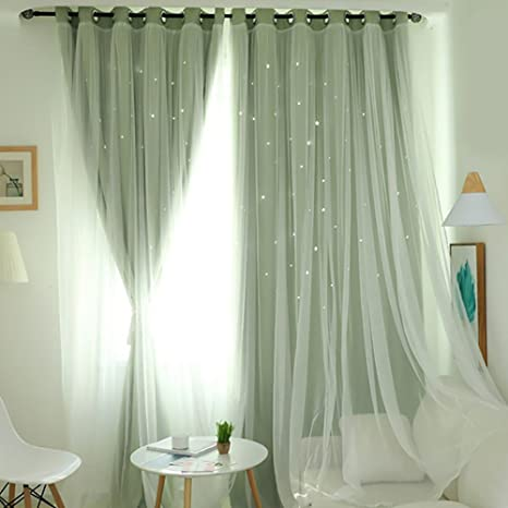 Shading Curtains Curtains Home Accessories Rainbow Decoration 1Pc Window Drapes
