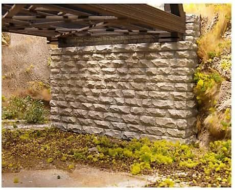 Chooch Enterprises CHO9850 N-Scale Double Cut Stone Bridge Abutment (2)