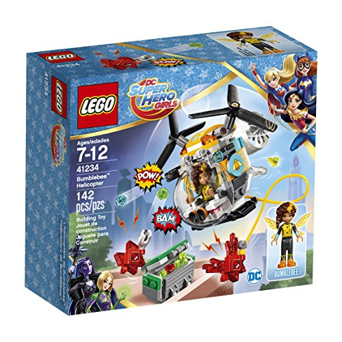 LEGO DC Super Hero Girls Bumblebee Helicopter 41234 DC Collectible - Helicopter Crystal Set