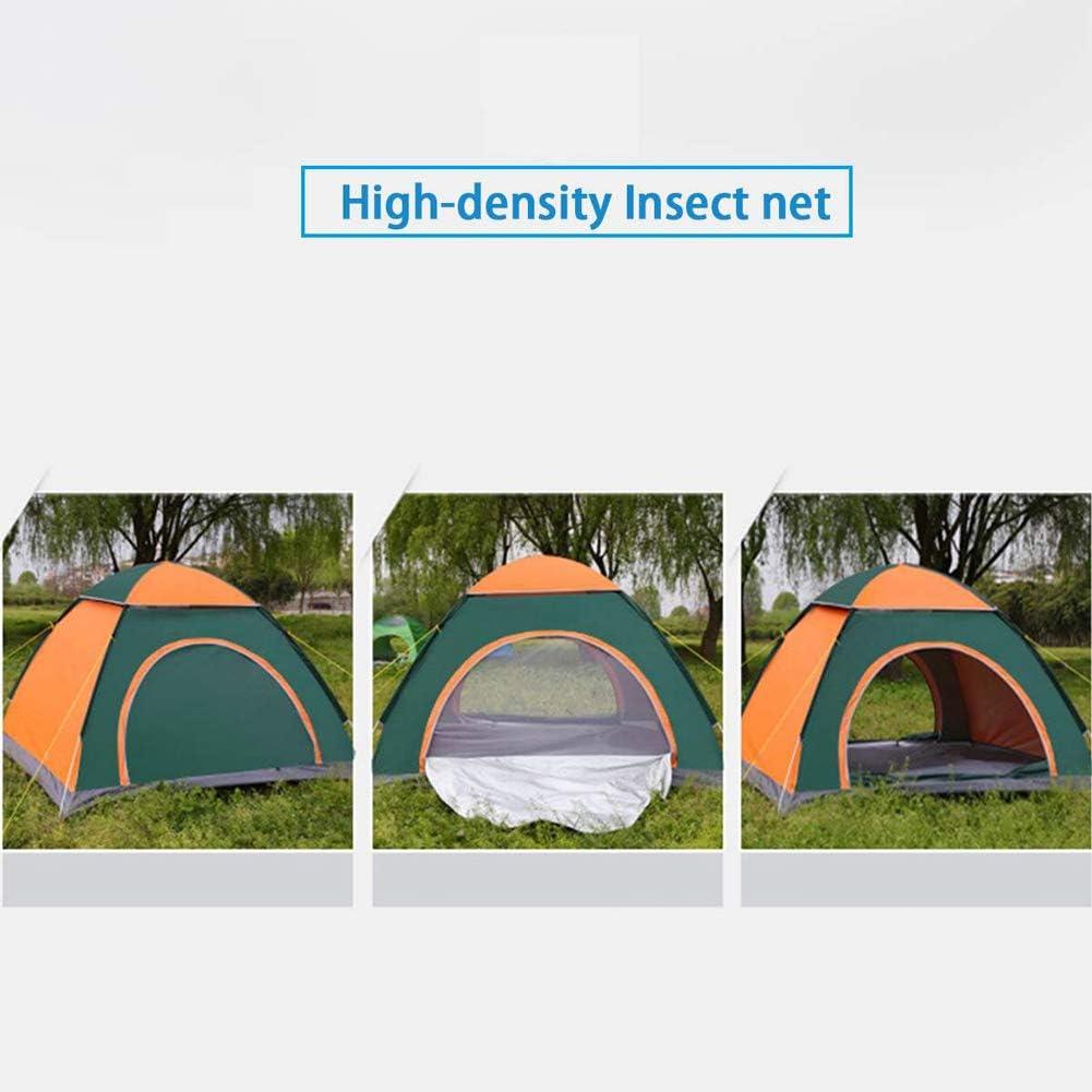 1~4 Persoon Automatische Pop-up Outdoor Family Camping Tent Ultralight Portable Waterproof Two Doors Voor Outdoor Hiking Mountaineering Travel Blue