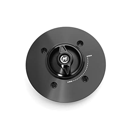 Amazon.com: Black REVO CNC Quick Release Gas Fuel Cap For ...