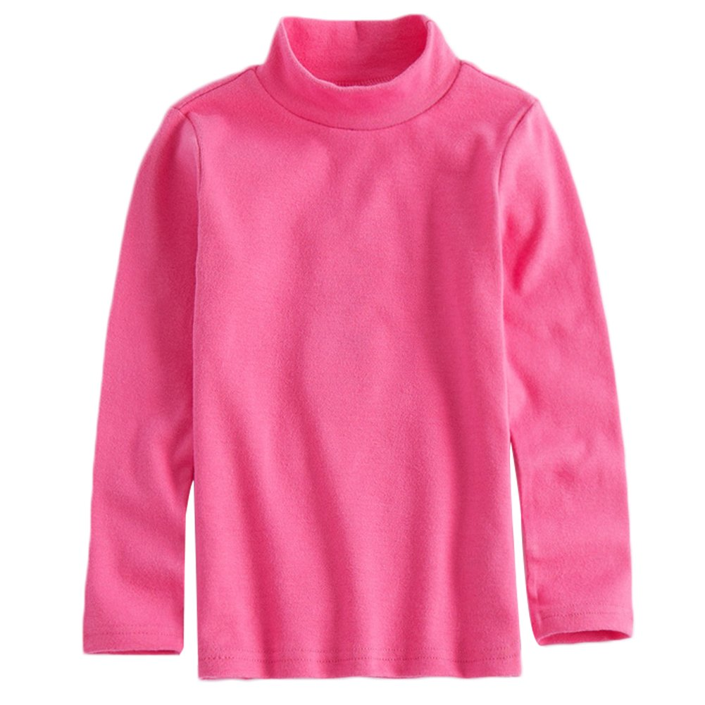 KISBINI Unisex Boys Cotton Long Sleeve Tees Kids T-Shirt Tops
