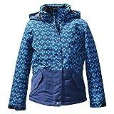 youth insulated jacket - Pulse Big Girls Youth Insulated Ski Jacket Coat Stardust (Large (14/16), Navy Turquoise)