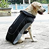 UsefulThingy Dog Rain Coats for Small Medium or Large Dogs – Rain Jacket with Reflective Stripes for Safety – Warm Waterproof Raincoat with Harness Hole, 7 Sizes 3 Colors Review