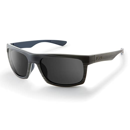 a2b04dfc6f Amazon.com  Zeal Optics Unisex Drifter Grey Woodgrain W Polarized Dark Grey  Lens One Size  Sports   Outdoors