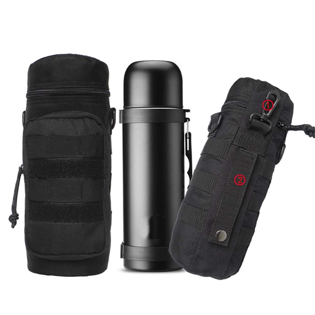 3f6594139788 Amazon.com : Buwico Water Bottle Pouch, Tactical MOLLE Hydration ...