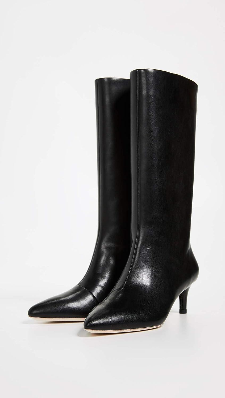 56e1ce1ddb3 Amazon.com | Loeffler Randall Women's Naomi Kitten Heel Tall Boots | Mid -Calf