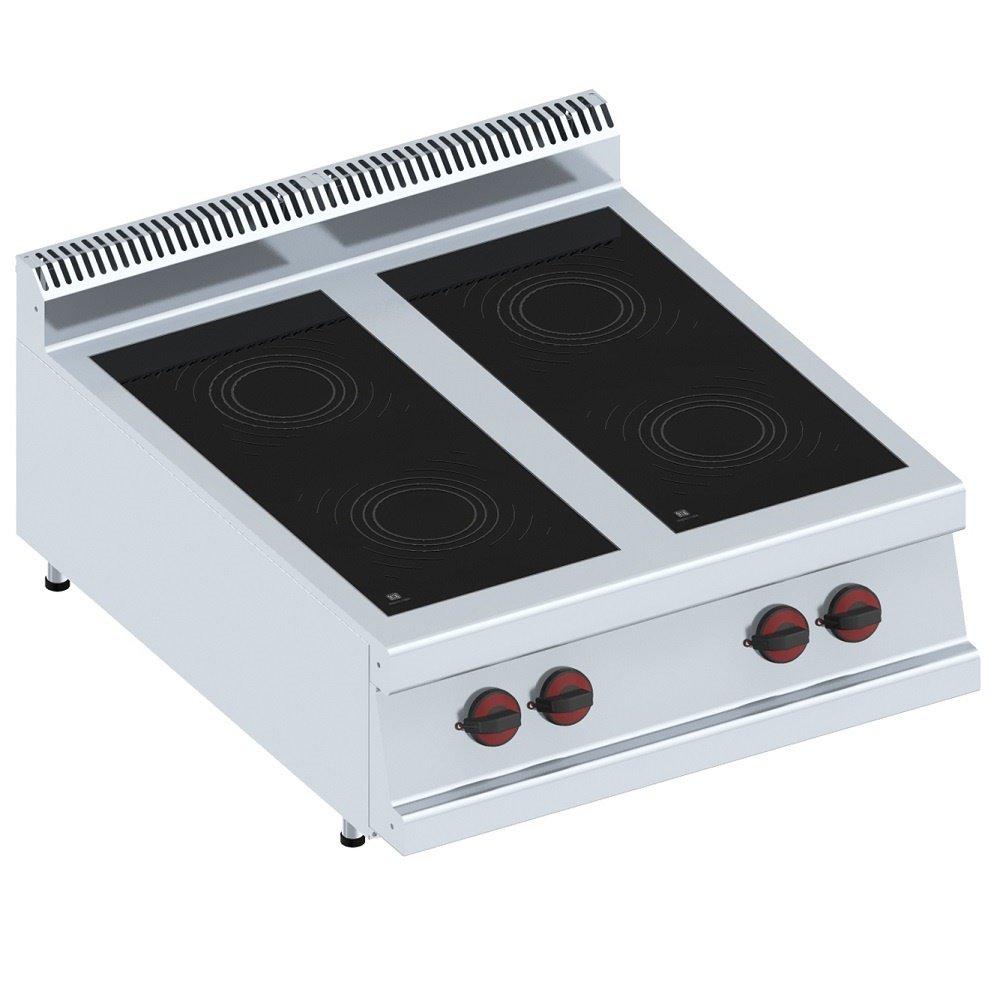 Macfrin 3472S Cocina de Sobremesa Inducción Eléctrica de 4 ...