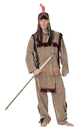 Vegaoo - Disfraz de Indio Adulto - L: Amazon.es: Juguetes y juegos