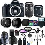 Canon EOS Rebel 77D 24.2MP DSLR Camera + 18-55mm + 70-300mm + 24GB Accessory Kit