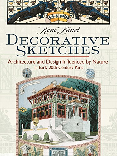 Decorative Sketches: Architecture and Design Influenced by Nature in Early 20th-Century Paris