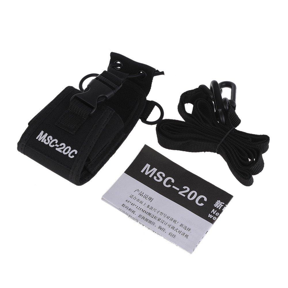 Zyurong Radio Caso Soporte MSC-20/C bolsa de nylon para Walkie Talkie