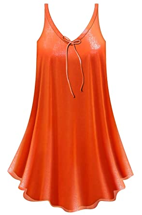 9bb6f24a438 Sanctuarie Designs Shimmery Bright Red A-Line Plus Size Supersize Lined  Sheer Top 0X