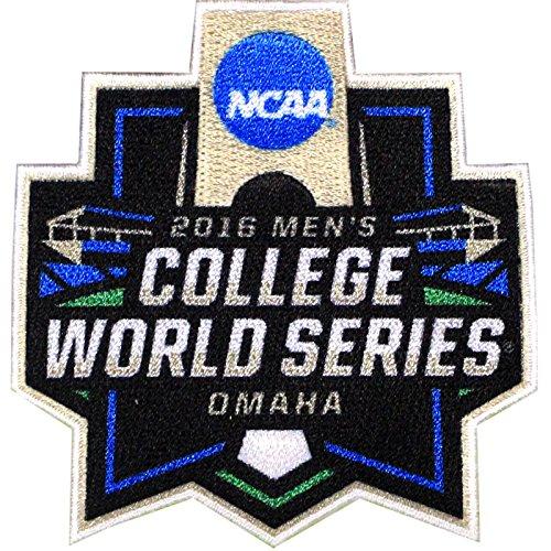 Official 2016 Men's College World Series NCAA Omaha Nebraska Jersey Sleeve Patch