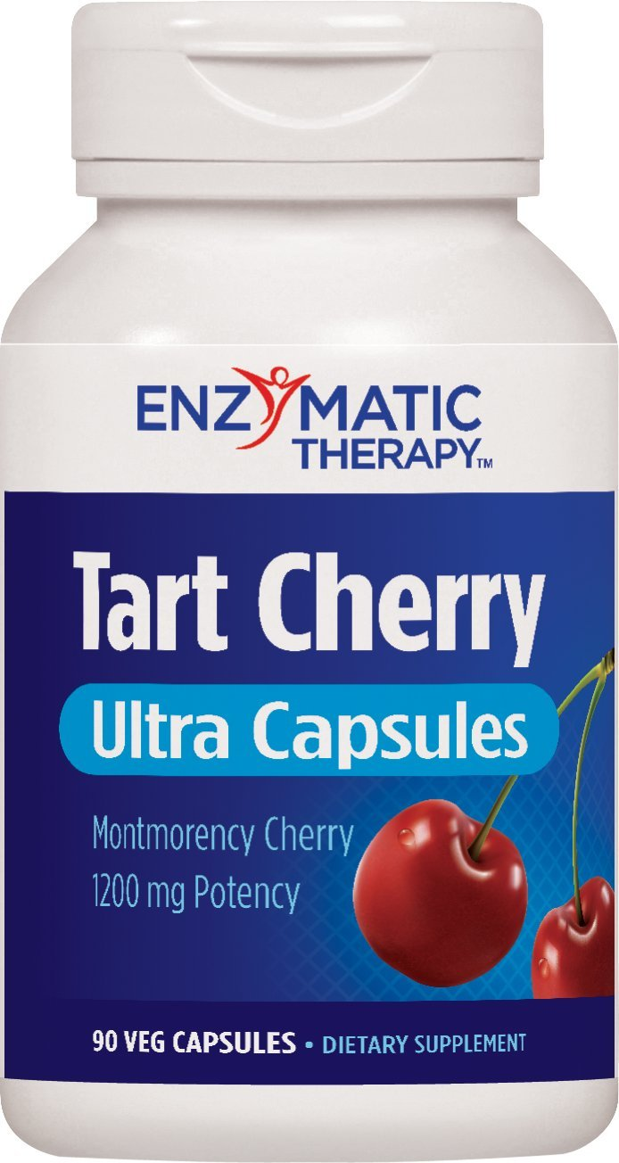 Enzymatic Therapy Tart Cherry Ultra Vegetarian Capsules, 90 Count by Enzymatic Therapy (Image #1)