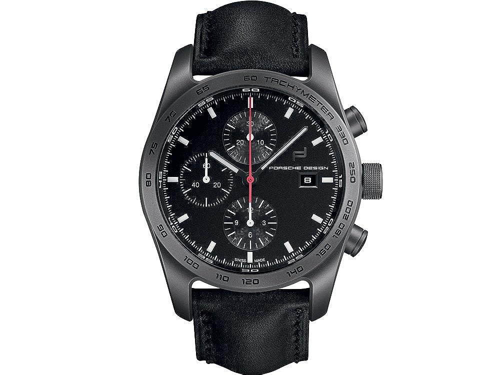 Amazon.com: Porsche Design Automatic Watch, Titanium, Chronograph, COSC, 6011.10.406.113: Watches