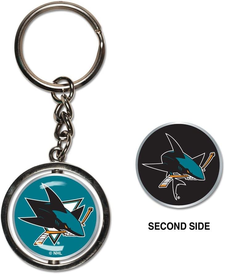 NHL Spinner Key Ring