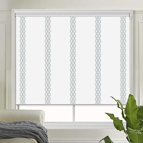 LETAU Patterned Blackout Window Shade