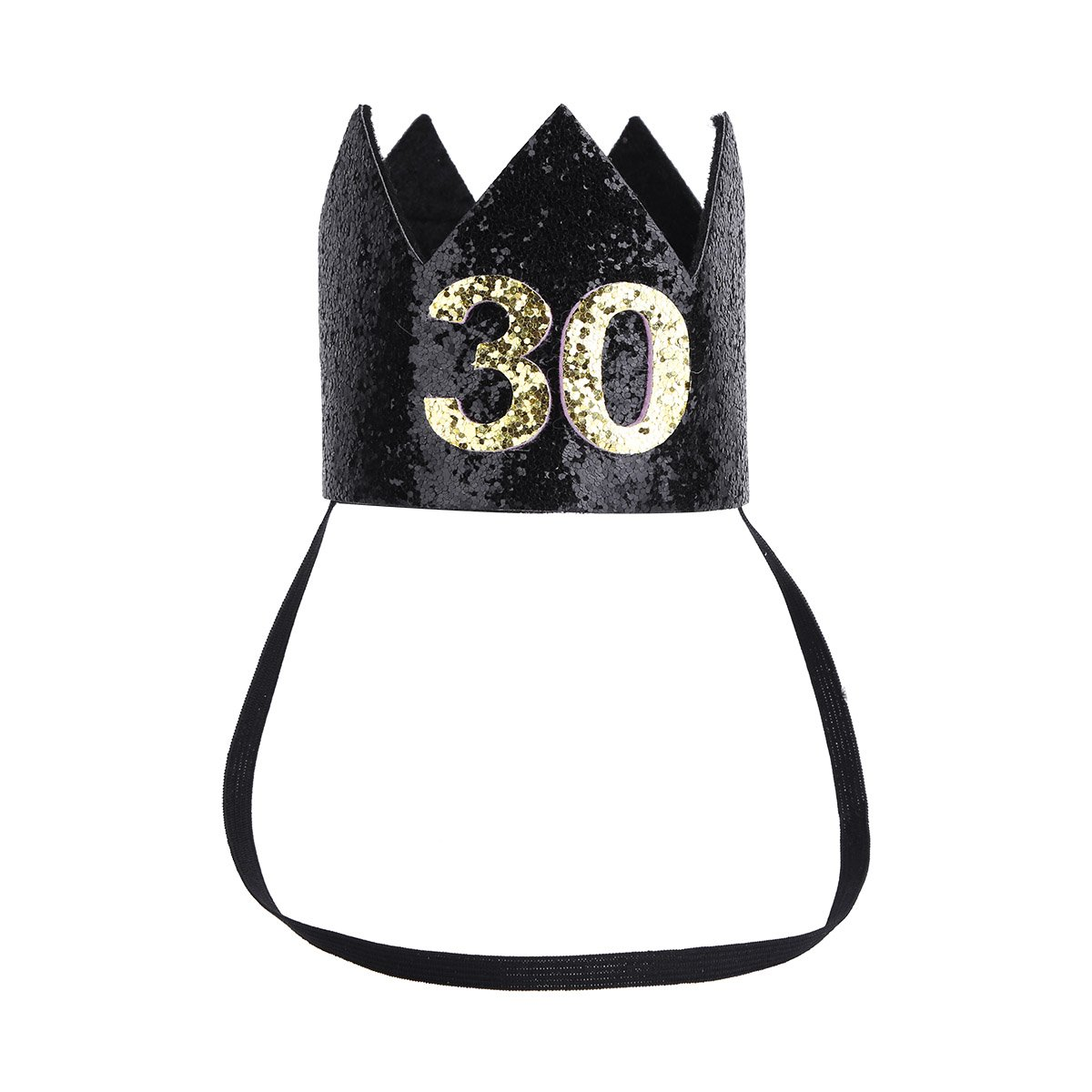 IEFIEL Womens 30th Birthday Crown Adult Thirty Flirty Party Hat 10050087 10050086 UK