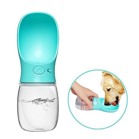 Belking Botella de Agua para Mascotas, 350ml Botella de Agua Portátil, Prevención de Fugas