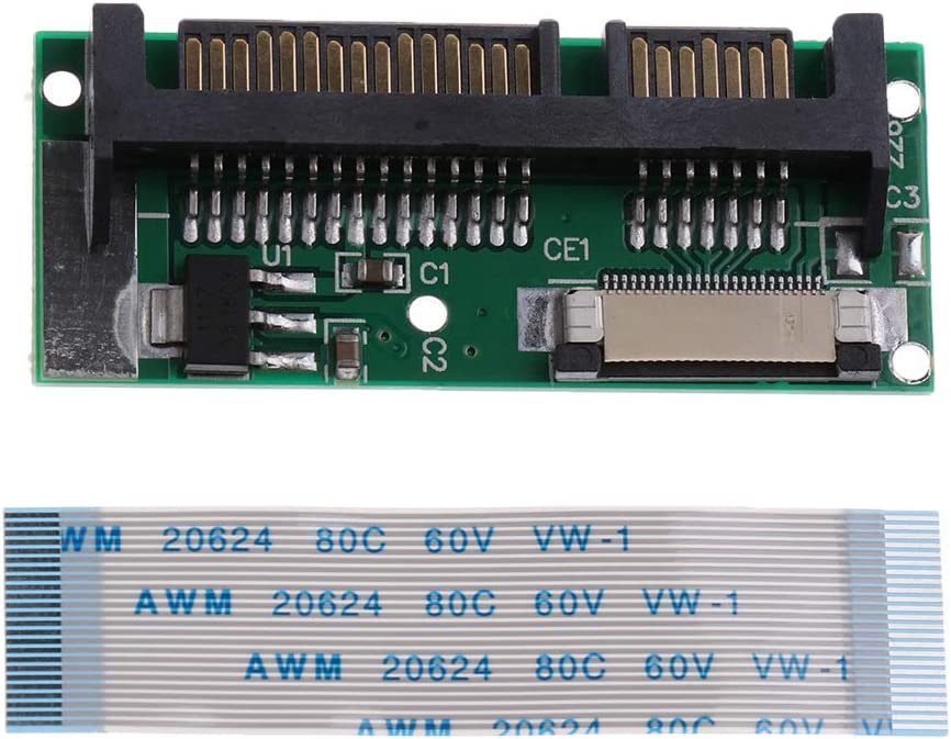 TISHITA 1 Piece 1.8inch CE SSD to SATA Card 2.5 Inch to 2.5 Inch