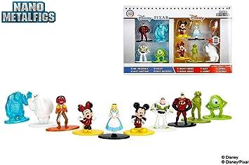Jada Disney Nano Metalfigs Die-Cast Mini-Figures 10-Pack: Amazon.es: Juguetes y juegos