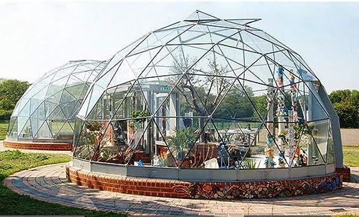 ZYJFP Tienda Al Aire Libre Transparente, La Bóveda del Transparente del Garden Igloo Tienda de campaña Patio Trasero Que Acampa De La Familia Jardín,4Diameter: Amazon.es: Hogar